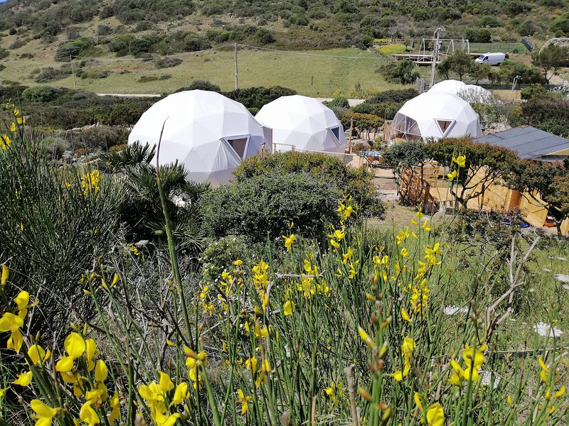 Glamping in cupola geodetica, holiday rental in Isola di Sant Antioco