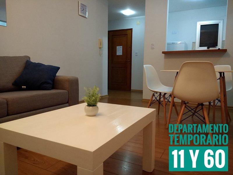 Departamento temporario céntrico, vacation rental in La Plata