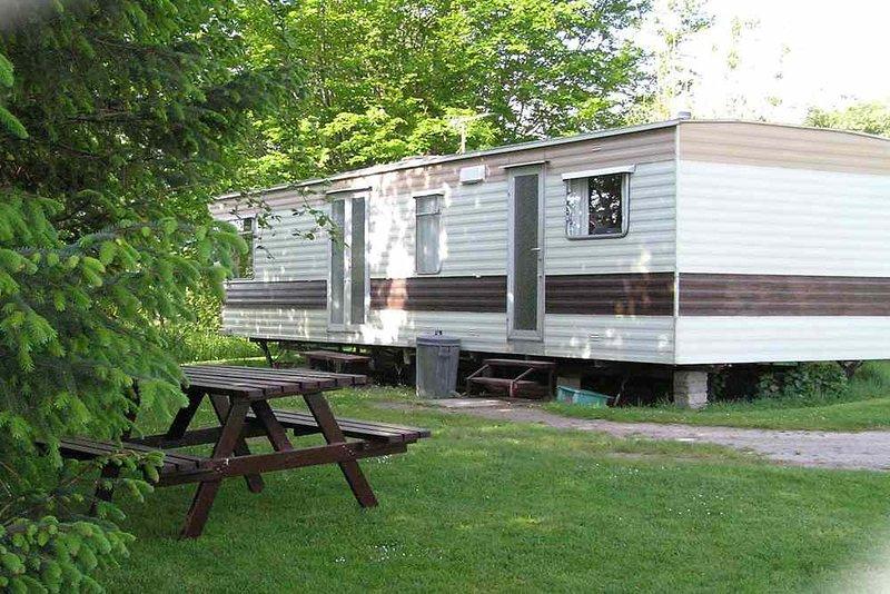 Hiddenglen Holiday Caravan, Ferienwohnung in Nairn