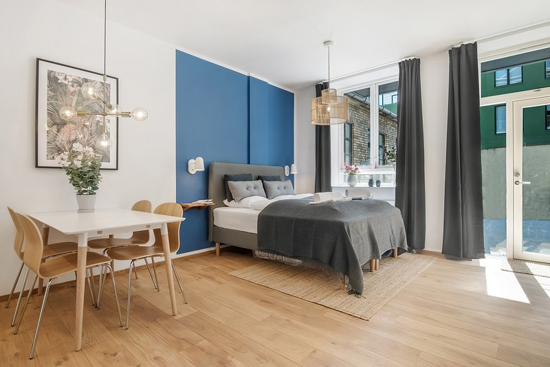 NORD | Studio Hotel Apartment | 24/7 Service| Sleeps 3, location de vacances à Malmö