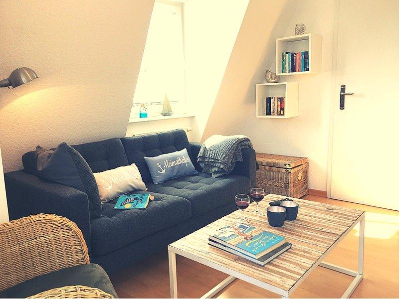 Appartement confortable pour 2 personnes avec une grande terrasse sur le toit