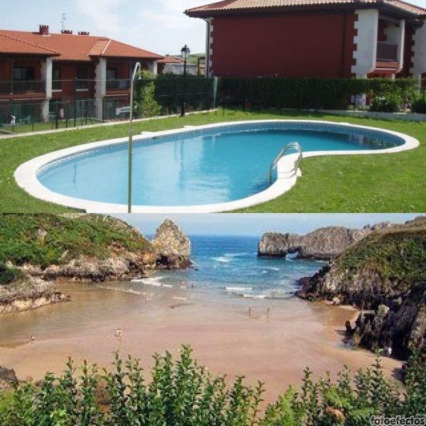 Apartamento con piscina, entre el mar y la montaña, holiday rental in Pesues