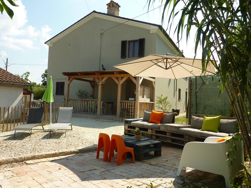 Casa Cingoli Appartement Noce, holiday rental in Cingoli