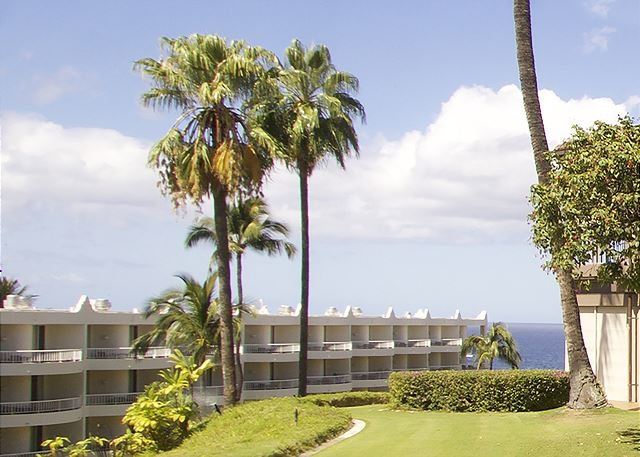 Partial Ocean View from Wailea Point #3401