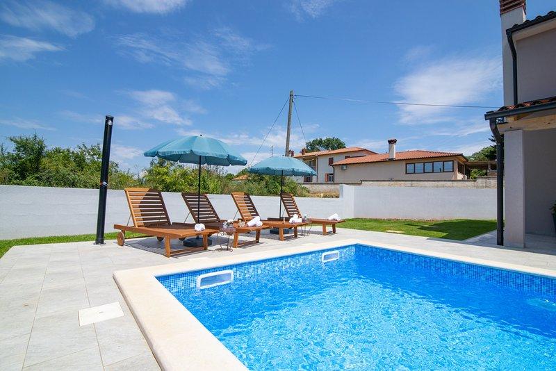 Villa Blaise in Manjadvorci with Private Pool / Villa Blaise in Manjadvorci mit eigenem Pool