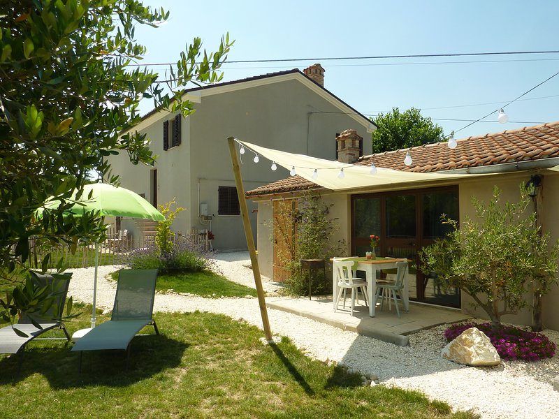 Casa Cingoli, Huisje Fico, holiday rental in Cingoli