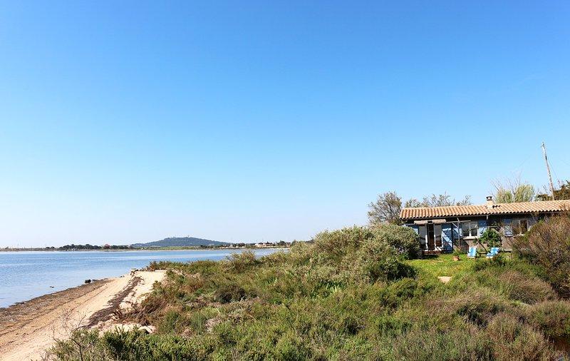Gites de Thau - La Plagette, les pieds dans l'eau - 6 personnes, location de vacances à Marseillan