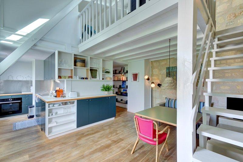 L'Etoilé, Superbe duplex en plein coeur des Chartrons, holiday rental in Cenon