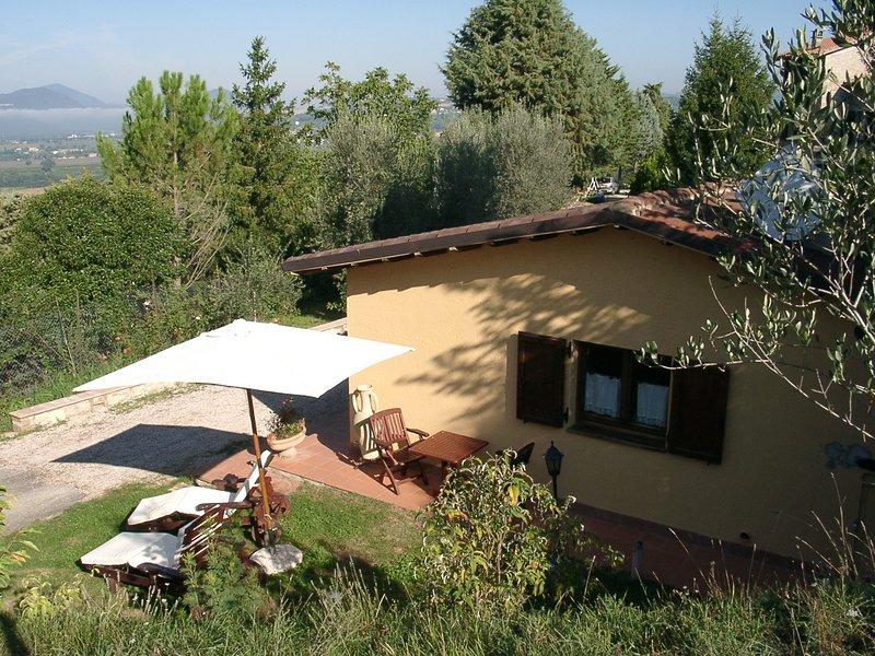 Podere Caldaruccio La Pineta - Bungalow, location de vacances à Ripa