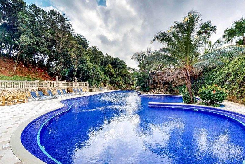 A menudo tenga la piscina para usted solo o compártala solo con algunos otros huéspedes.