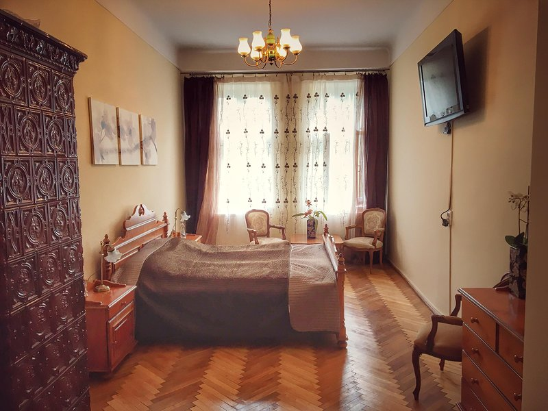 Charming 64 sqm apartment in the heart of Lviv, vacation rental in Lviv