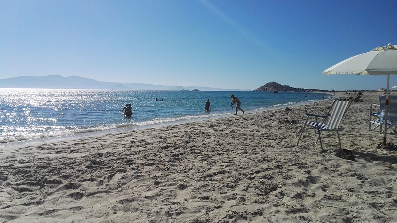 Praia de Zahara, Kastraki, Naxos