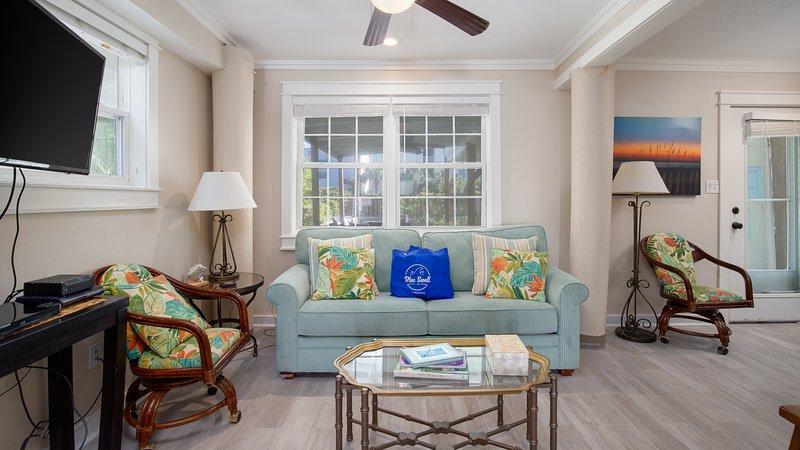 Rio Mar Unit 1 | Whitecap-Living Room