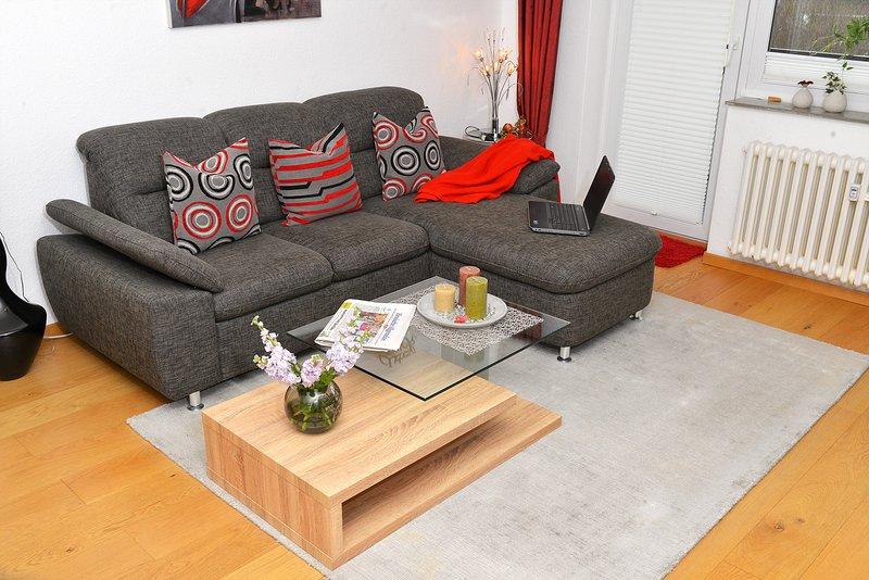 Ruhiger Apartment mit Balkon Kassel, aluguéis de temporada em Niestetal