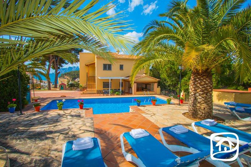 Abahana Villas - PAULA, holiday rental in Benissa