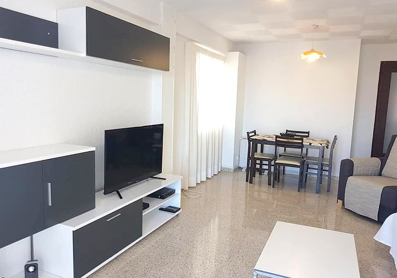 2 Bed Apartment Ciudad Antenna Has Shared Indoor Pool and ...