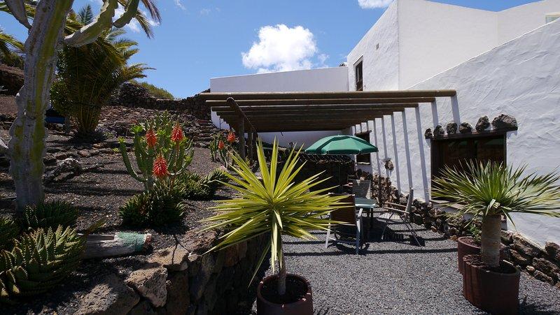 Casa CUEVA , Finca LANZAROSY, location de vacances à Guatiza