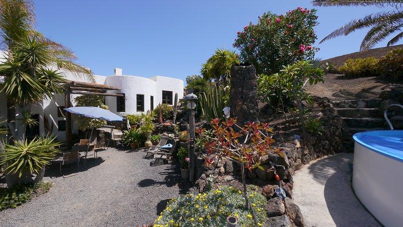 Casa CALDERETA , Finca LANZAROSY, location de vacances à Guatiza