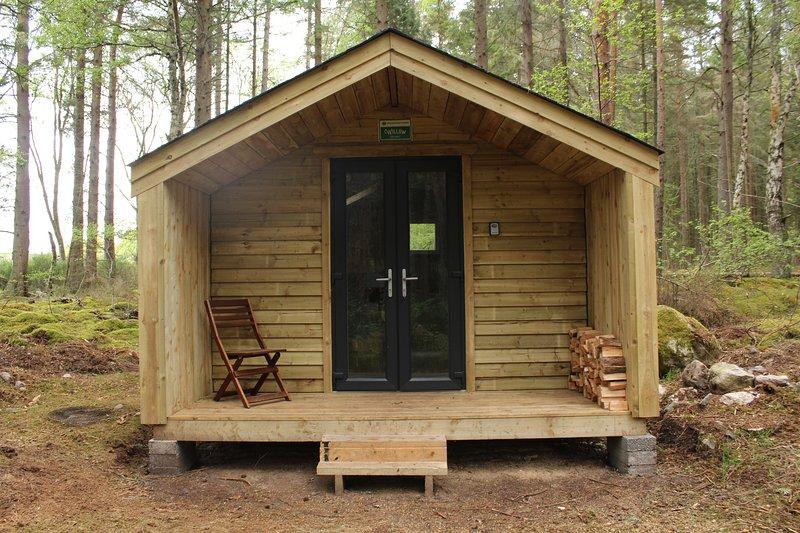 Wildwoodz Cabins - Rowan Cabin, location de vacances à Fortrose