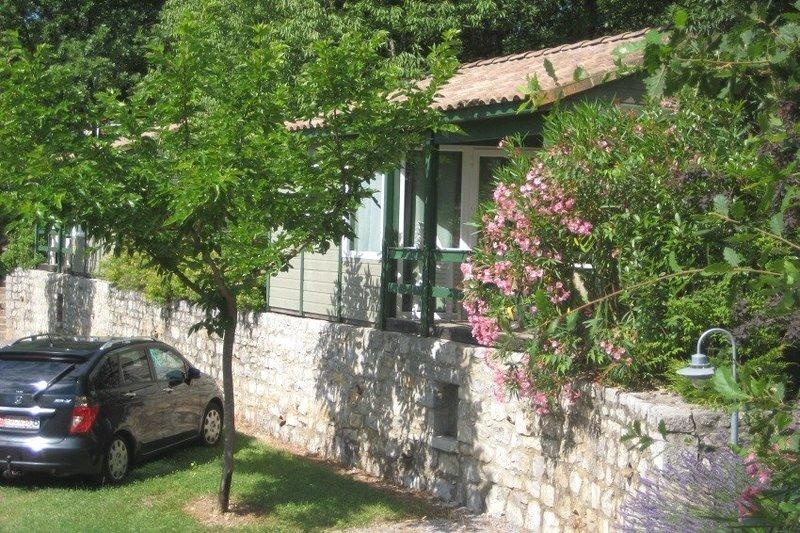Camping le Mas du Sartre, holiday rental in Saint-Alban-Auriolles