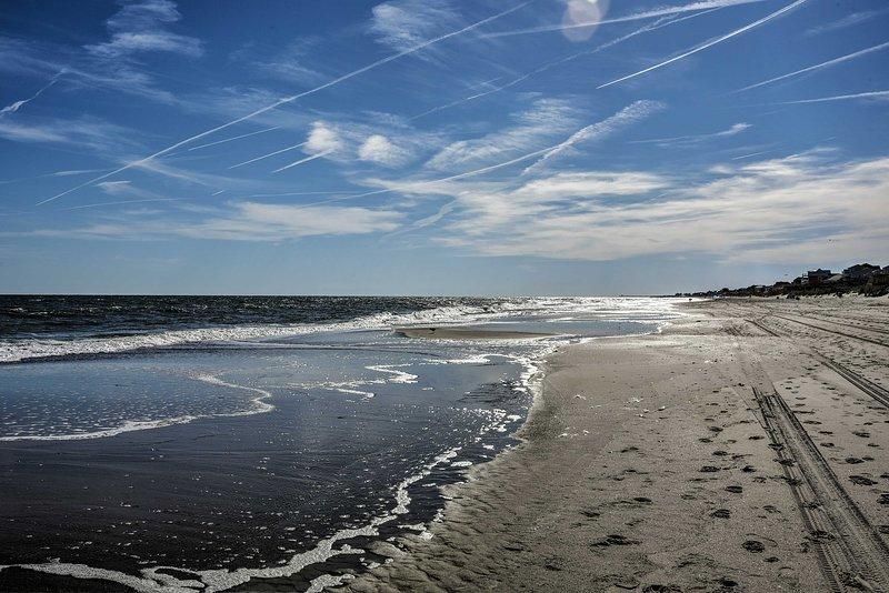El alquiler de vacaciones se encuentra a pocos pasos de la playa!