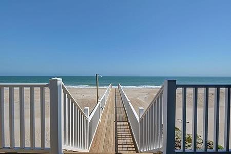 Privater Zugang zum Strand