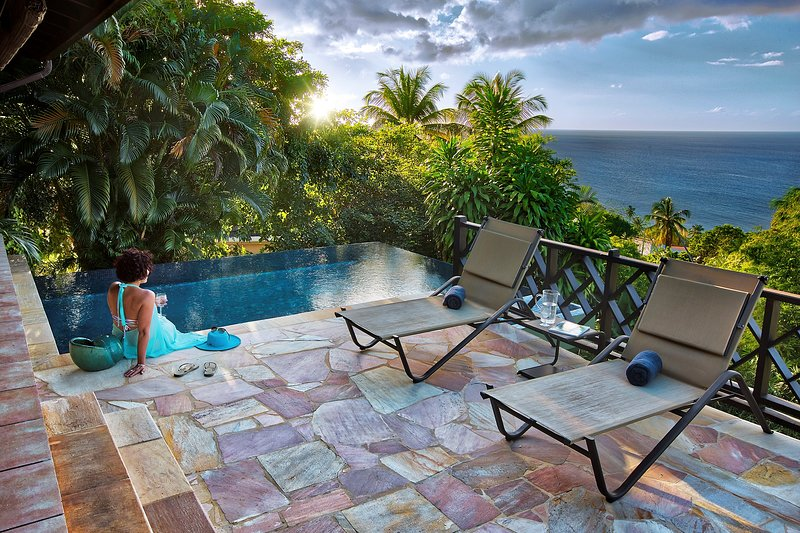 You will love the pool - please note views may vary.