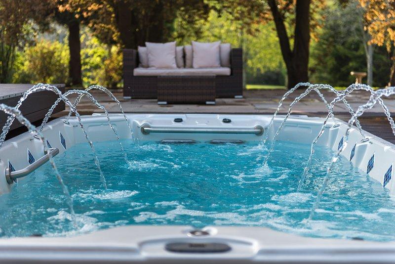 El spa de natacion