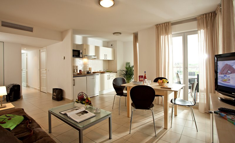 Enjoy the charming and cozy decor in our apartment.