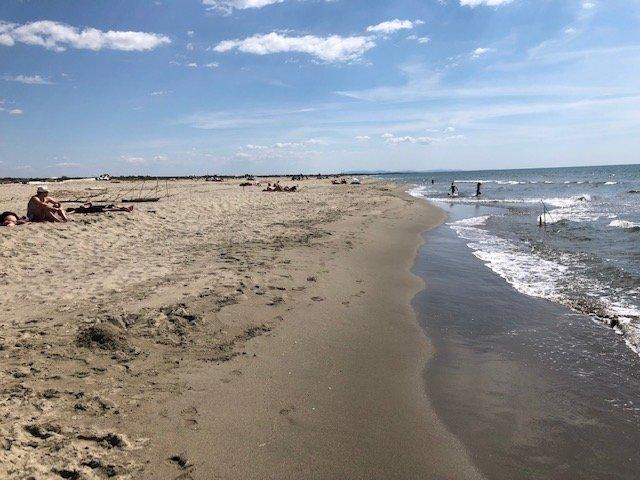 Playa y el mar