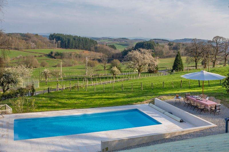 Saint-Prix-les-Arnay Chateau Sleeps 12 with Pool - 5702430, location de vacances à Larochemillay