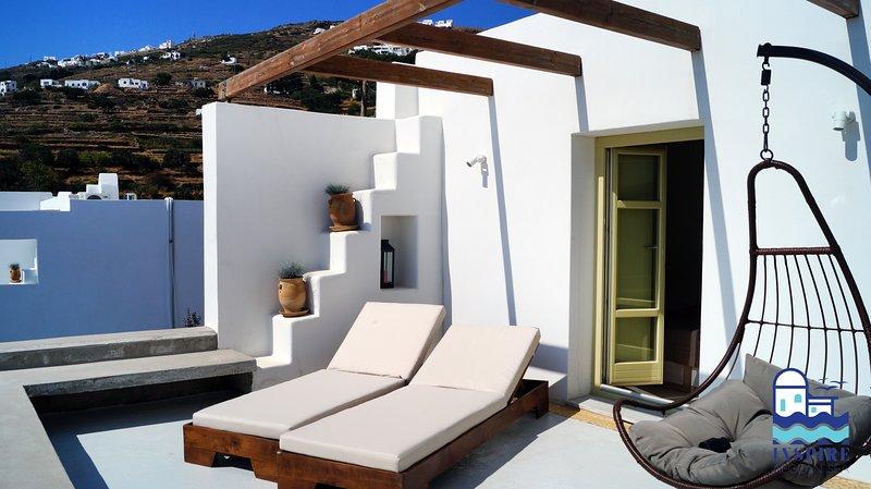 Inspire Aegean Sea Luxury Houses- Triantaros III, holiday rental in Triantaros
