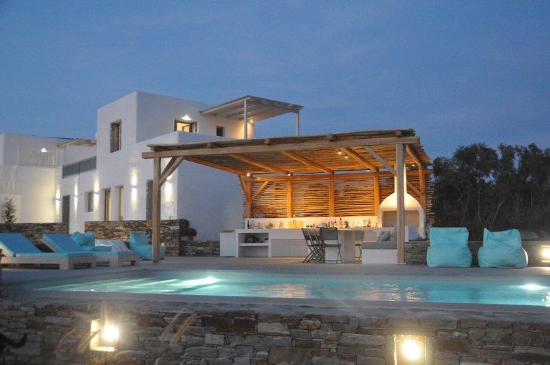 Villa Thébaïdes 2, holiday rental in Plaka