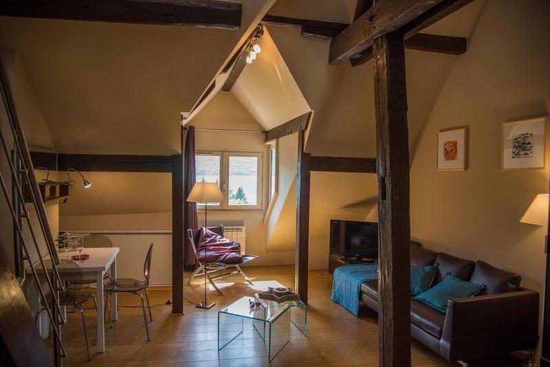 Talloires village, Le Loft du  Manoir, holiday rental in Talloires