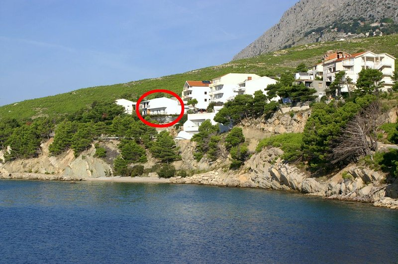 Lokva Rogoznica Apartment Sleeps 4 with Air Con - 5479109, vacation rental in Medici