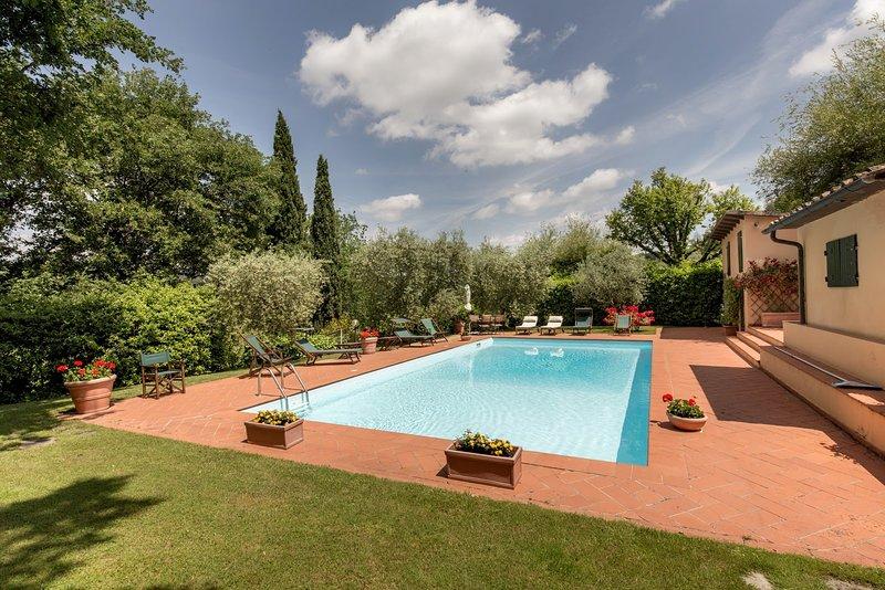 Villa Taccina, vacation rental in Poggibonsi