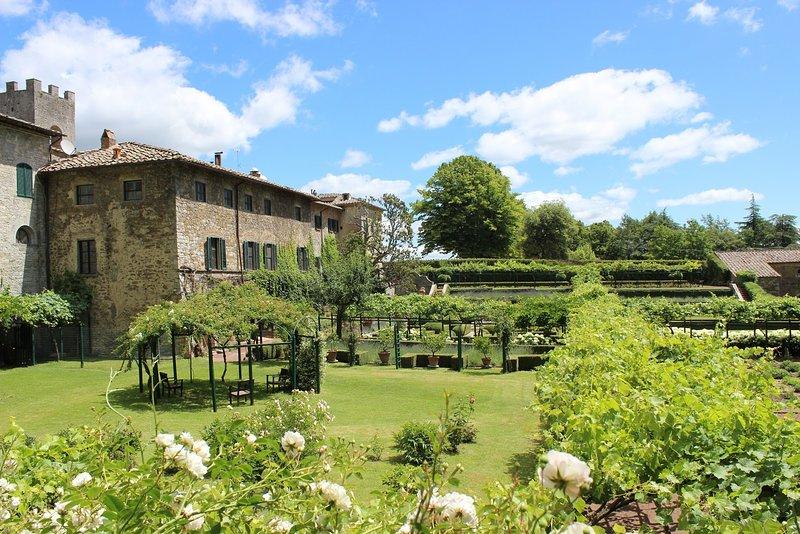 Eremo Chiostro, holiday rental in Castelnuovo dei Sabbioni
