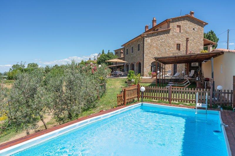 Borgo di Gebbia, holiday rental in Civitella in Val di Chiana