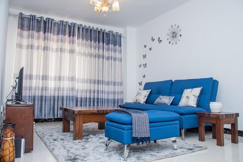 Spacious one bedroom in Kileleshwa, alquiler de vacaciones en Nairobi