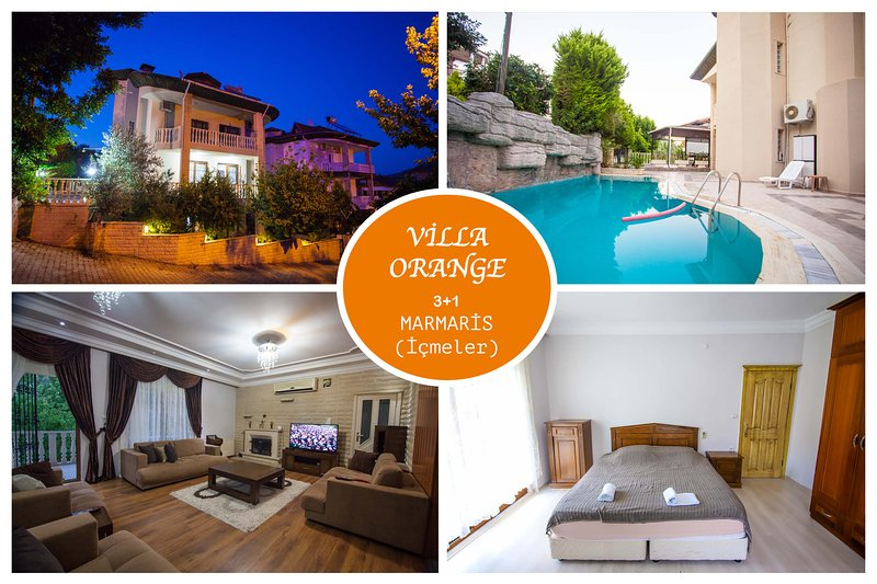 Villa Orange Icmeler Daily Weekly Rentals, holiday rental in Marmaris