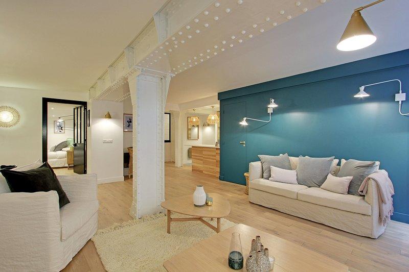 A Trendy Apartment For 4 people next to the Louvre  - JOUR1G, location de vacances à Paris