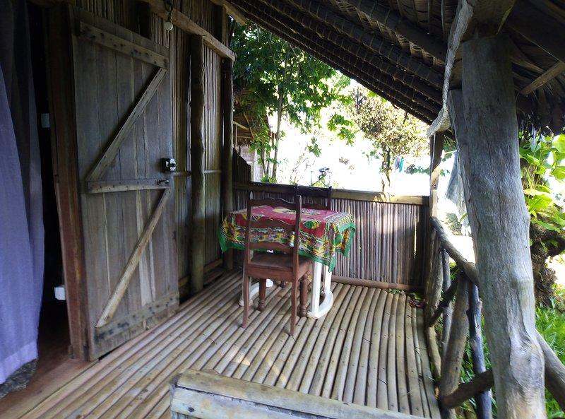 terraza de casa de campo casa de 15 m² objeto de arrendamiento