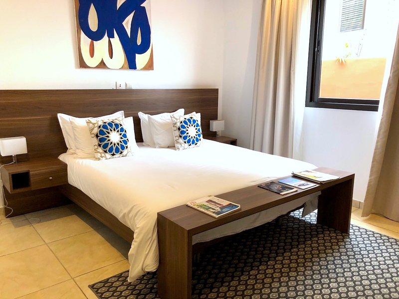 Abidjan - Villa Rok - Bedroom n°3, location de vacances à Grand Bassam