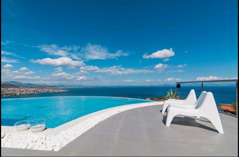 Villa Coral (Ground floor apartment) – semesterbostad i Porto Rafti
