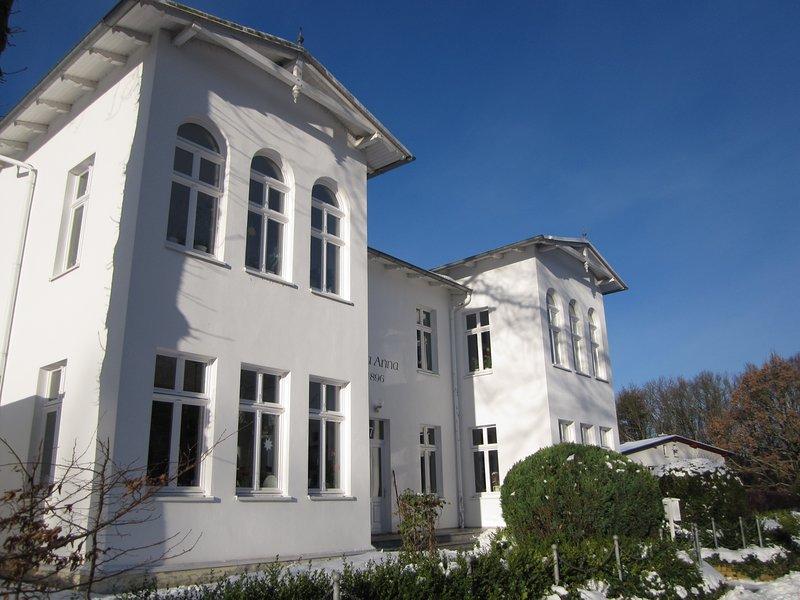 Villa Anna Seebad Zinnowitz Ferienwohnung Vergissmeinicht auf Usedom, casa vacanza a Zinnowitz