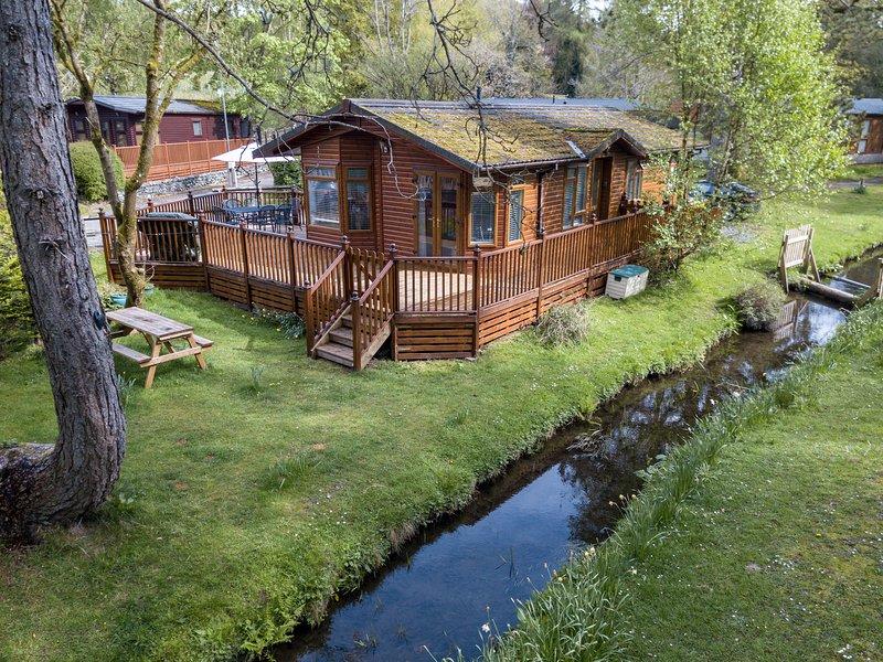Aislado y tranquilo Beckside Lodge
