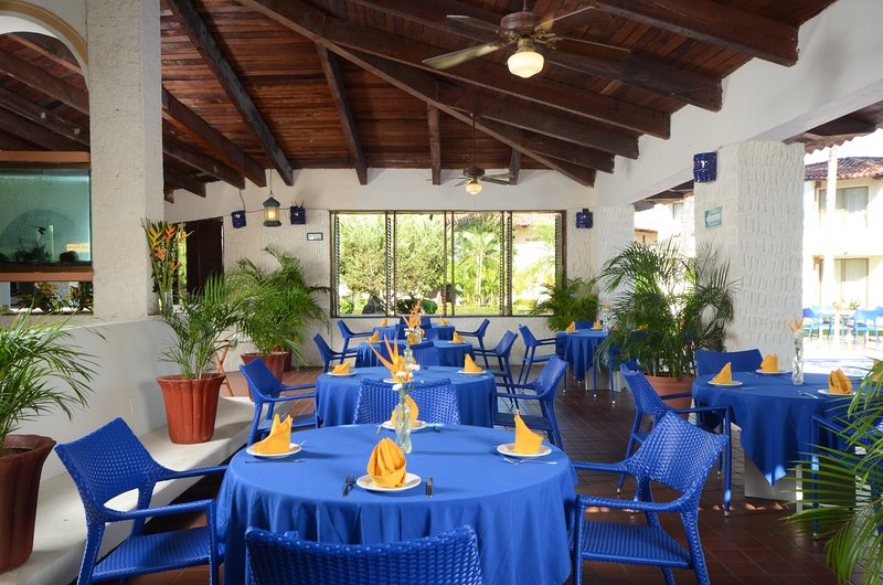 Hungry? Enjoy a delicious meal at the on-site restaurant.
