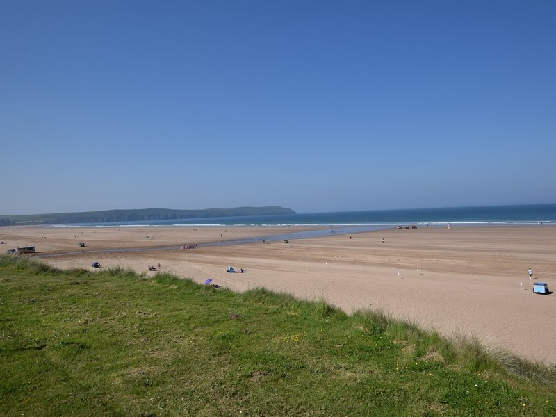 Woolacombe Beach just a 15 minute drive away