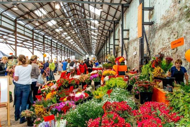 We are close to this Eveleigh farmers market!