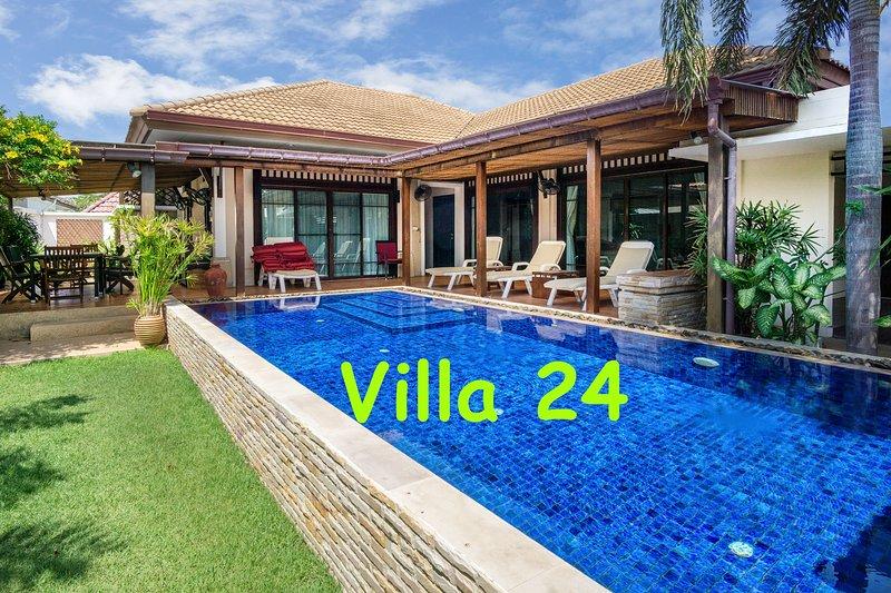 BUSABA POOL VILLA 24, Ferienwohnung in Hua Hin